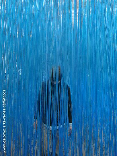 lluvia azul triste